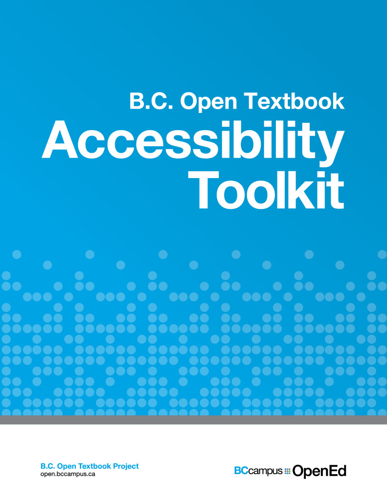 cover of Accessibility Toolkit